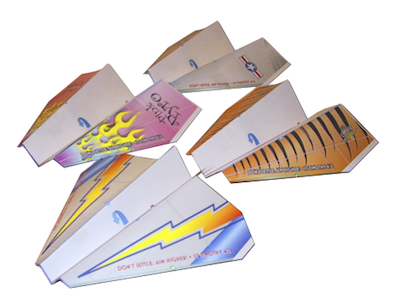 Test Flight Paper Airplanes Craft